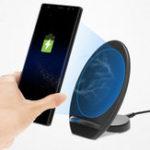 Оригинал 10W 9V Быстрая зарядка Qi Зарядное устройство для зарядного устройства для беспроводной сети 2 Зарядное устройство для Samsung S8 S9 Примечание
