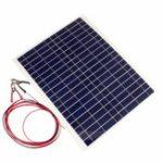 Оригинал 20W 12В Поликристаллические эпоксидные элементы Солнечная Панель DIY Солнечная Модуль Батарея Зарядное устройство