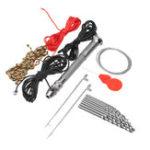 Оригинал Bead Threading Набор Набор Полуавтоматическая мини-ручка Дрель Комплект с 10 Twist Дрельs 0,8-3 мм