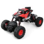 Оригинал JJRC1/162.4G4WDRacingRc Авто Водонепроницаемы С Led Light Внедорожник Rock Crawler Truck RTR Toys