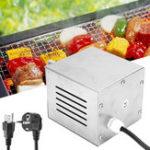 Оригинал 25W110/220VНержавеющаясталь Электрическая роторная пища Пирог для пиццы BBQ Мотор 40 / 80kgs Емкость