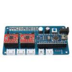 Оригинал 2 Axis GRBL Панель управления для DIY Лазер Гравировальная машина Benbox USB Stepper Driver Board