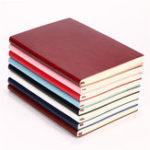 Оригинал 6 Цвет Soft Обложка Кожаный блокнот для ноутбука 100 Дневник дневника для офиса Школа Использование