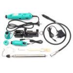 Оригинал 181Pcs Mini Дрель Электрическая шлифовальная шлифовальная машина Rotary Инструмент с комплектом принадлежностей