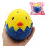Оригинал Broken яйца Shell Squishy 13 * 11CM медленно растет с подарком коллекции упаковки Soft Toy
