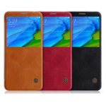 Оригинал NILLKIN Flip PU Leather Smart Sleep With View Window Защитный Чехол Для Xiaomi Redmi Note 5