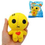 Оригинал Mummy Line Кукольный Squishy 12 см Медленный рост с подарком коллекции упаковки Soft Игрушка