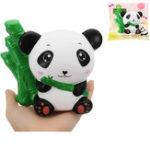 Оригинал Eric Bamboo Panda Squishy 16CM медленно растет с подарком коллекции упаковки Soft Toy