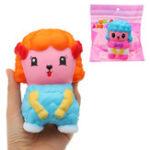 Оригинал Мальчик-девочка Кукла Squishy 9 * 12CM медленно растет с подарком коллекции упаковки Soft Toy