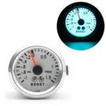 "Оригинал Авто2""52mmLEDМеханический Turbo Boost Указатель указателя поворота Press Хром + Шланг"