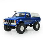 Оригинал WPLC-241/164WD2.4GВоенный Грузовик Buggy Crawler Off Road RC Авто 2CH RTR Toy Набор