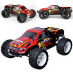 Оригинал Wltoys L313 1/10 2.4G 2WD 50km / h Racing Rc Авто 550 Brushed Big Foot Vehicle RTR Toys