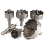 Оригинал 6шт16-65ммTCTКарбидныйнож для резки отверстий Дрель Биты для металлического сплава из нержавеющей стали