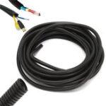 Оригинал 10x13mm Управление Convoluted Tubing Провод Разделительный конвейер кабельного канала 10 метров Длина