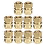 Оригинал 10шт Landa Karcher Brass 3/8 Соединительная шайба высокого давления Quick Connect Female 4000 PSI