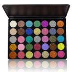 Оригинал VERONNI С блестками Eyeshadow Palette Eyes Cosmetics Макияж