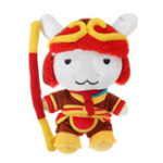 Оригинал XIAOMI Красный фаршированный плюшевый игрушка Classic MITU Король обезьян 25см Симпатичный Soft Кукла Лучший подарок для детей