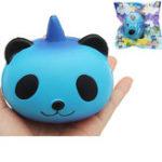 Оригинал Sanqi Elan Galaxy Panda Unicorn Squishy 9.5 * 9 * 7.5cm Медленное восхождение с коллекцией упаковки Soft Игрушка