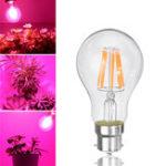 Оригинал 8W A60 E27 B22 COB Non-Dimmable LED Растение Увеличить лампочку для гидропоники Greenhouse AC85-265V
