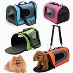 Оригинал Soft Sided Собака Carrier Pet Travel Портативный Сумка Главная Щенки Транспортные средства для животных