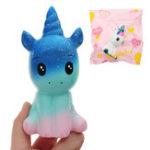 Оригинал Unicorn Squishy 12 * 6.5 * 5CM Медленный рост с подарком коллекции упаковки Soft Toy