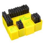 Оригинал Высококачественныйпрочныйцинковыйсплав3мм6мм Letter Наборцифрs Punch Leather Печать Кожаный аксессуар Инструмент