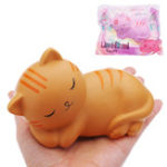 Оригинал Linohitomi Кот Squishy 8CM Slow Rising With Packaging Collection Gift