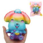 Оригинал Galaxy Puppy Squishy 14 * 7.5 * 8CM медленно растет с подарком коллекции упаковки Soft Toy