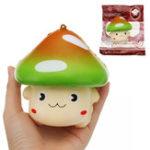 Оригинал YunXin Wave Point Большой гриб Squishy 11 * 11см медленный рост с подарком коллекции упаковки Soft Игрушка