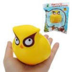 Оригинал Сова Squishy 18CM медленно растет с подарком коллекции упаковки Soft Toy