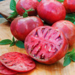 Оригинал Egrow 100Pcs / Pack Purple Tomato Семена Сад Здоровые фрукты Растительные растения Bonsai Семена