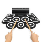 Оригинал 9 Key Digital USB Portable Electronic Roll Up Drum With Built-in Speaker