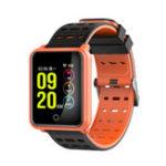 Оригинал N88 1,3-дюймовый большой экран IP68 Водонепроницаемы Смарт-браслет Кровяное давление Сердце Rate Smart Watch