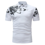 Оригинал Men's Casual Short Sleeve Lapel Polo Shirt