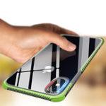 Оригинал Bakeey2in1Съемнаяподушка безопасности Прозрачная Soft TPU Защитная Чехол для iPhone X