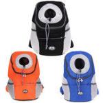Оригинал Pet Backpack Carrier Собака Сумки Breathable На открытом воздухе Travel Сумка Собака Рюкзак-носитель Pet Собака Фронт Сумка