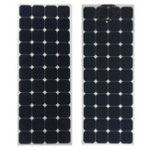 Оригинал Elfeland 140W 23V Sunpower Semi-flexible Солнечная Panel 1.5m Cable для дома RV Лодка