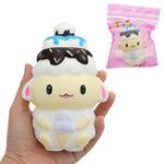 Оригинал Ice Cream People Squishy toy 10 * 15cm 71G Медленный рост с подарком коллекции упаковки Soft Toy