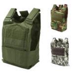 Оригинал КамуфляжнаяохотаВоенныйТактическаяжилеткаWargame Body Molle Armor Охотничья куртка CS На открытом воздухе Оборудование для джунгле