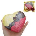 Оригинал Kiibru Шоколад Squishy 11.5 * 10.5 * 5CM Медленный рост с подарком коллекции упаковки Soft Игрушка