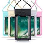 Оригинал УниверсальноедвойноеуплотнениеВодонепроницаемыHDСенсорный экран телефона Сумка Чехол для iPhone Xiaomi
