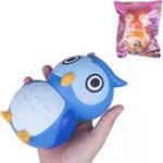 Оригинал Vlampo Owl Squishy 15 * 10 * 10CM Медленный рост с подарком коллекции упаковки