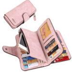 Оригинал ЖенскоеБольшиеемкостиматовыйКожаPU Кошелек телефон для iPhone Мобильный телефон Unver 5.5 Дюймы