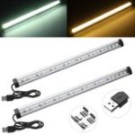 Оригинал 35CM 50CM 4.8W 7.2W SMD5630 Чистый белый теплый белый USB LED Жесткая лента для кухни Home DC5V