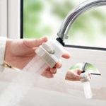 Оригинал 360RotaryFaucetBoosterФильтрдля воды 3 Режимы переключения Водосбережение высокого давления Набор Краны для распылителей Наборchen В