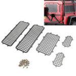 Оригинал 1 Комплект Защиты от черных металлов для Traxxas TRX-4 Body RC 1/10 Авто Гусеничные детали