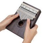 Оригинал 17 ключей Деревянный Калимба Африканский красное дерево Thumb Pocket Фортепиано Перкуссия Музыкальный инструмент