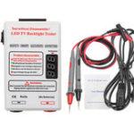 Оригинал GJ2C 0-320V Выход LED LCD Тестировщик для подсветки телевизора Измеритель извещателя Инструмент Лампа Бусинка