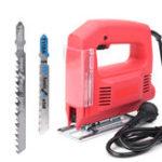 Оригинал 220V 550W Jig Saw Electric Jig Saws Электрическая прокрутка Sweep Saw Набор Деревообработка Набор
