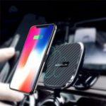 Оригинал NILLKIN10WQiБеспроводнаябыстраязарядка Мощный магнитный Авто Держатель панели приборов на iPhone X